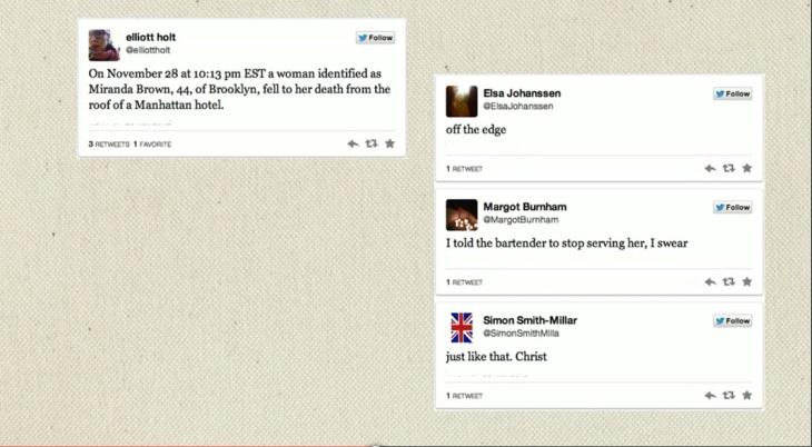 Twitter fiction TED talk screen shot